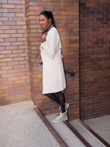 leather, knitwear, winter white, Zara, Forever 21, Fall, Fashion, stylehopping, angelica guillen