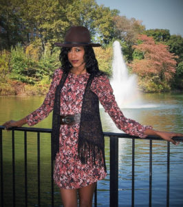 Fashion, fringe, vest, boots, hat, fall, bohemian, style hopping, angelica guillen