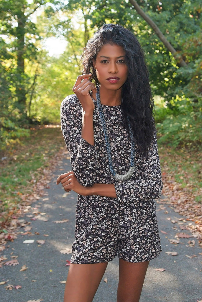 organic, style hopping, nature, fashion, angelica guillen, H&M, jumpsuit, flower print