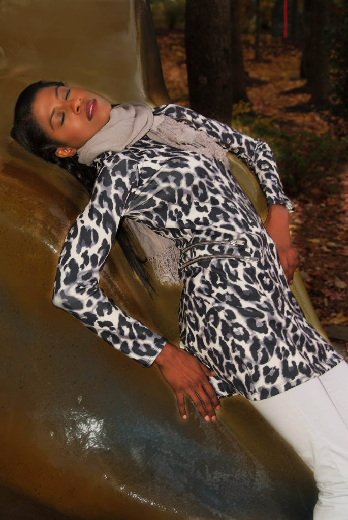 animal print, zara, fall, flare jeans, scarf, ground of sculptures