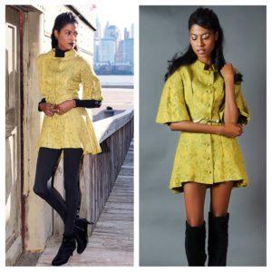 Vintage, green jacket, Zara Boots, Stylehopping, Angelica Guillen