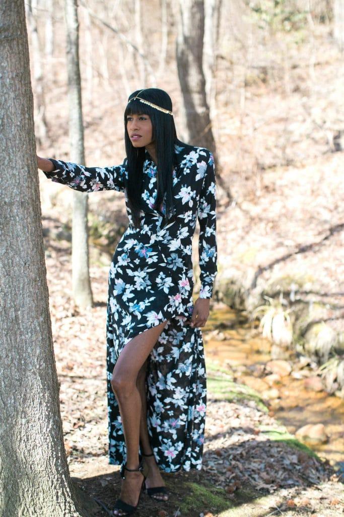 floral dress, dailylook