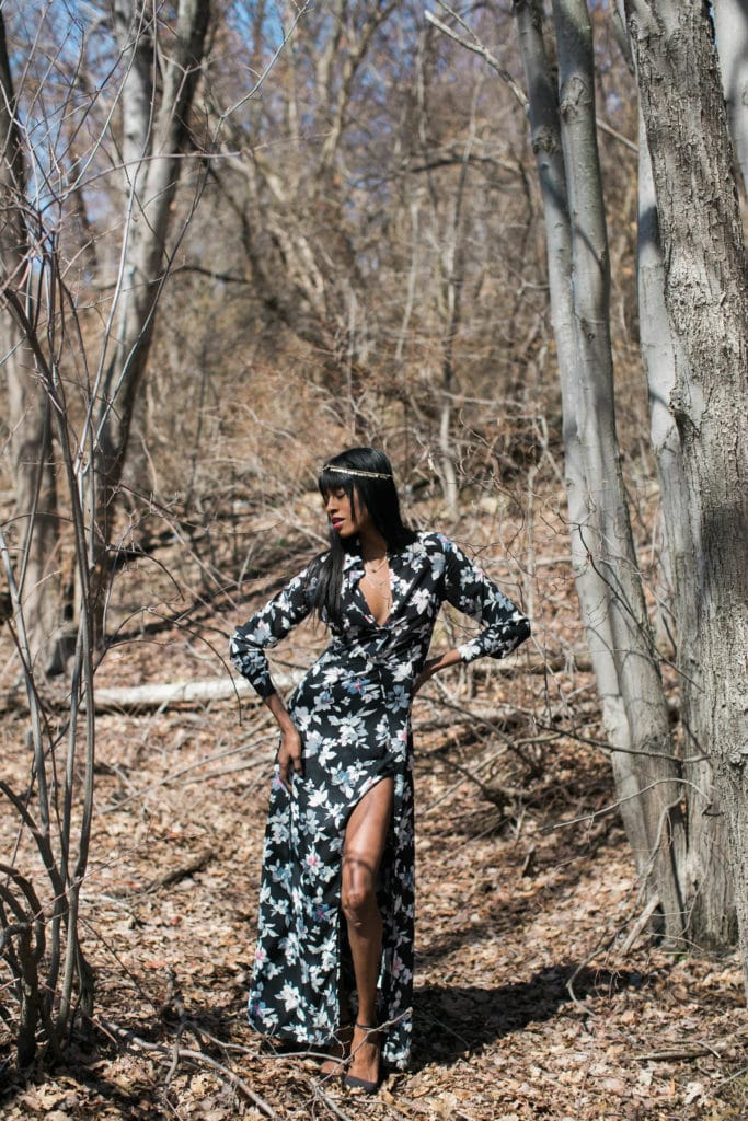 Floral dress, dailylook, bohemian