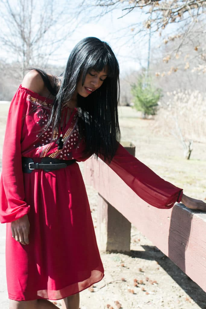 Peasant Altazurra dress