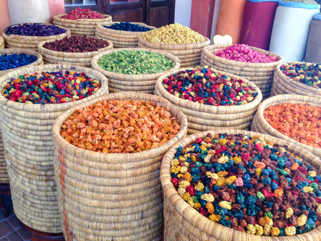 Colorful grains