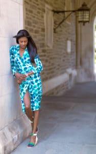 Calvin Klein dress, Jord watch