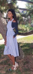 Midi Dress, Off shoulder top