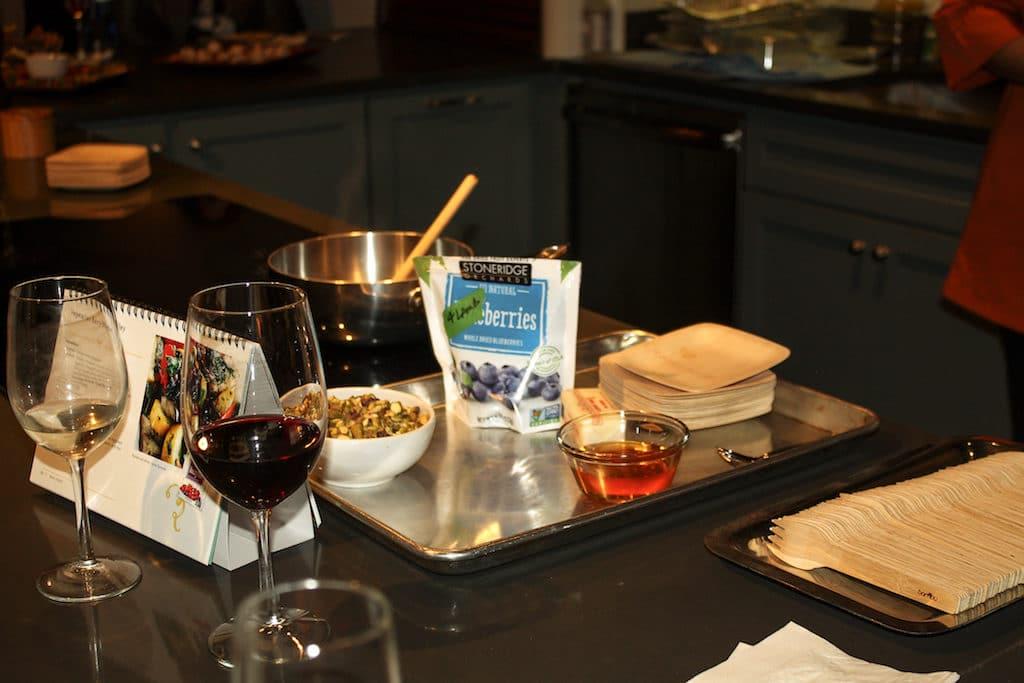 Chef Lisa Adams,Stoneridge Orchards, Cheese, Berries, Holidays