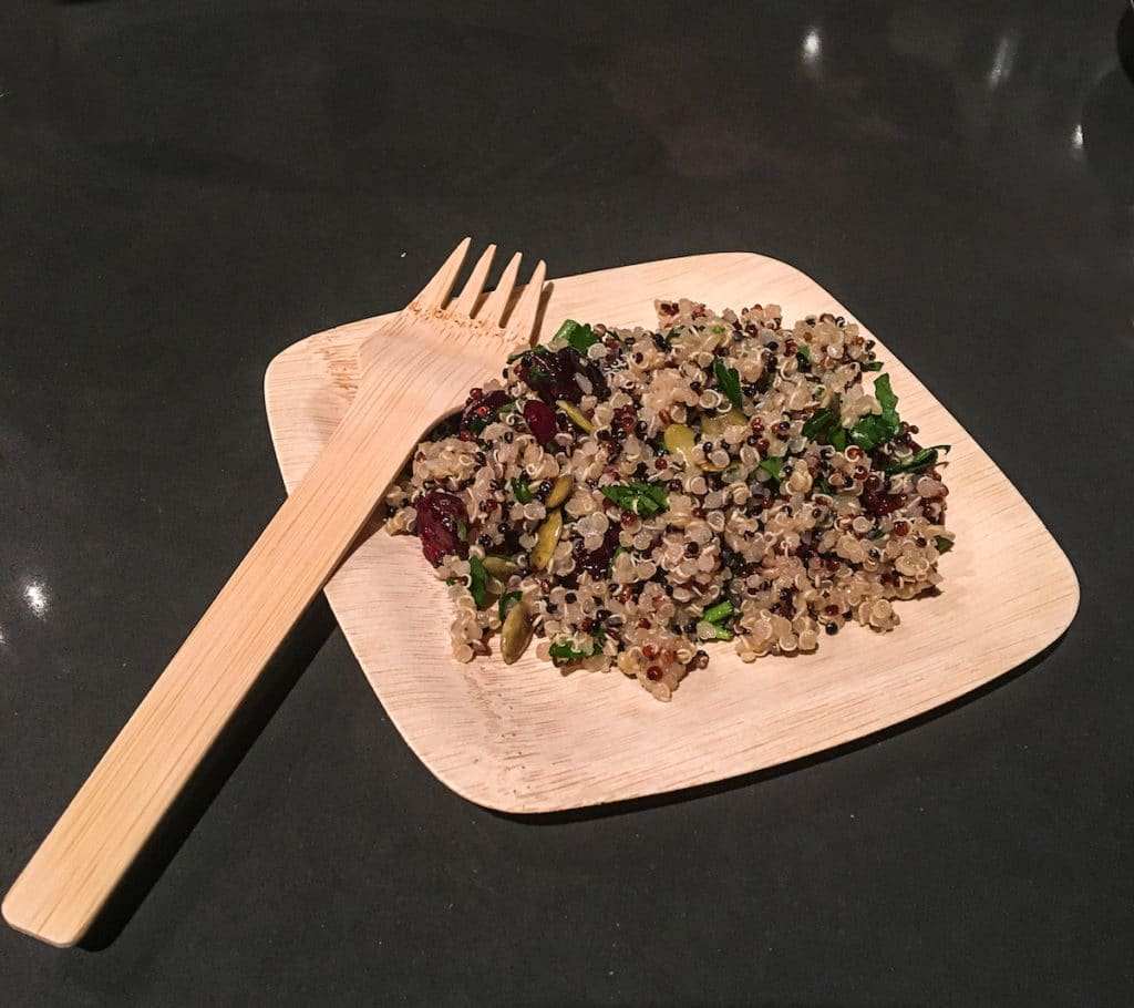 Quinoa Cranberry Pilaf, Stoneridge Orchards, Chef Lisa Adams