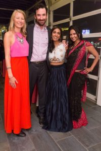 Nyla Rodgers (MAMA HOPE Founder), Megha Desai (Desai Foundation Director)