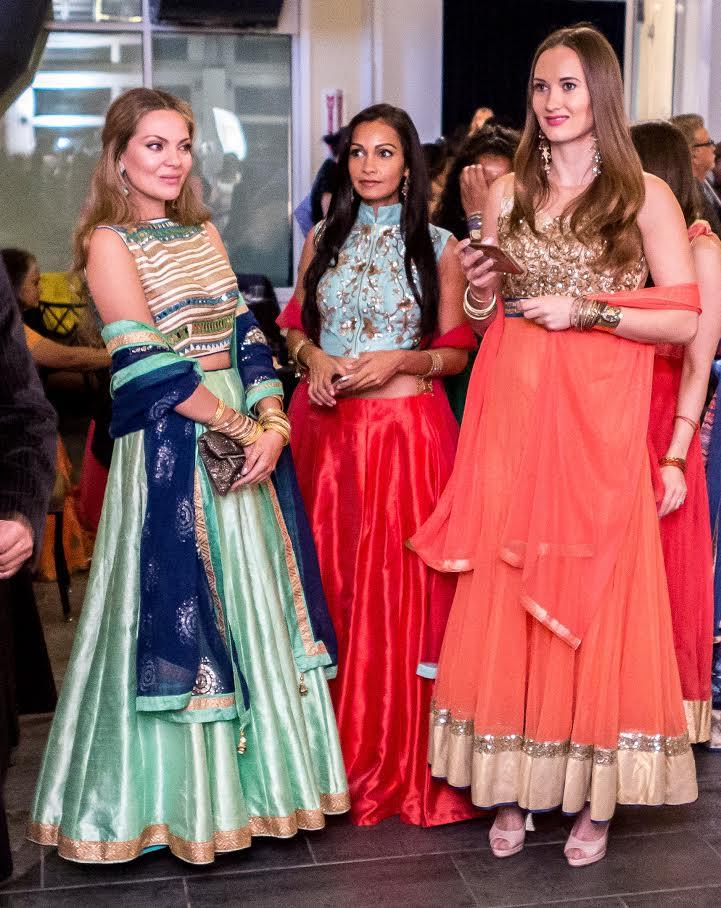 Sonali Patel and companions
