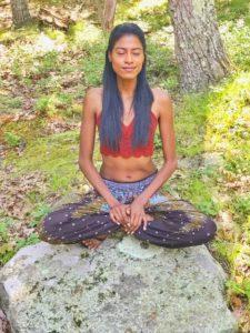 Yoga sitting-One Tribe Apparel
