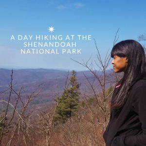 Hiking at the Shenandoah National Park