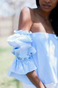ruffles sleeves