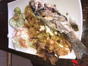 Fish Dish in La Habana