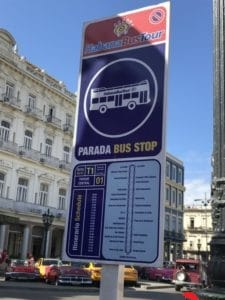 La Habana Beach Bus Route