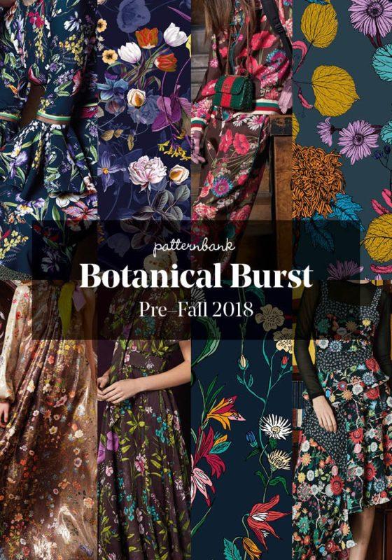Botanical Burst-Patternbank