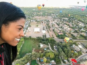 on the air balloon