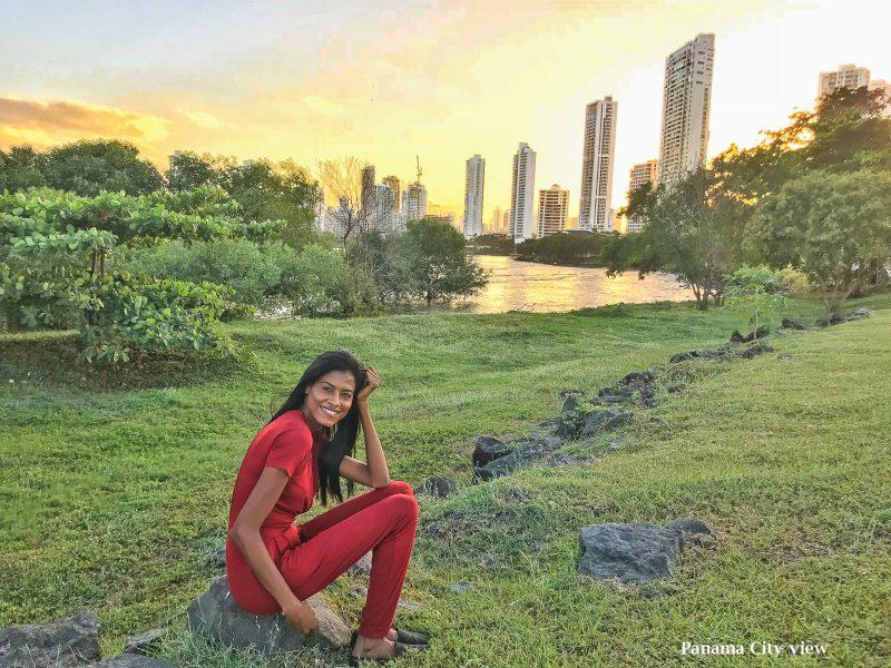 Panama Viejo city view