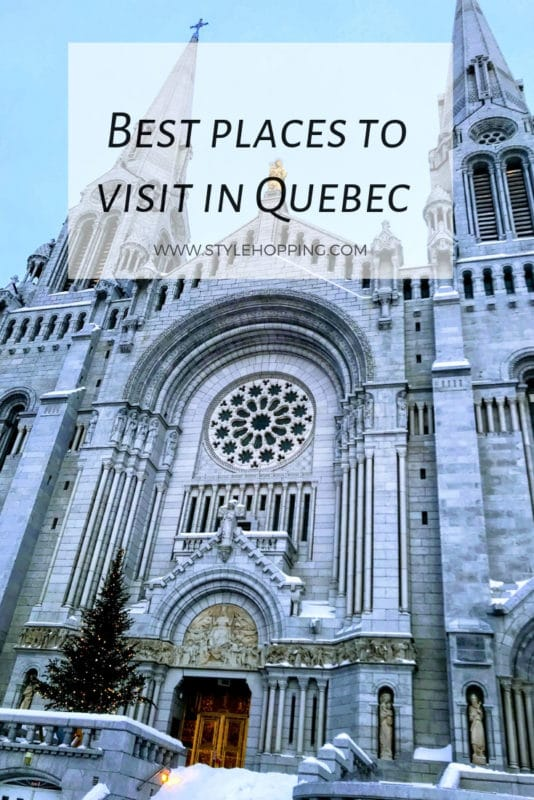 Best Places to visit in Quebec City