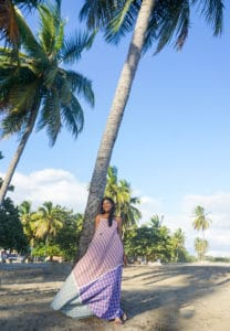 Chiara maxi dress- coconut full smile