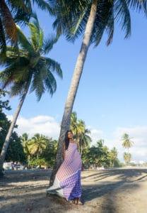 Chiara maxi dress full coconut