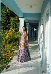 Chiara maxi dress full-hall
