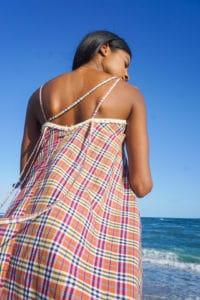 Chiara maxi dress-half back
